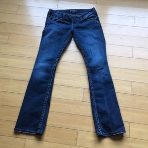 "Women's silver jeans Tuesday 16 1/2"" W28/L33"